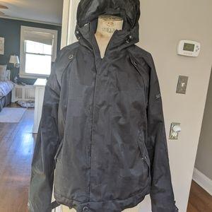 Sessions ski jacket medium, black